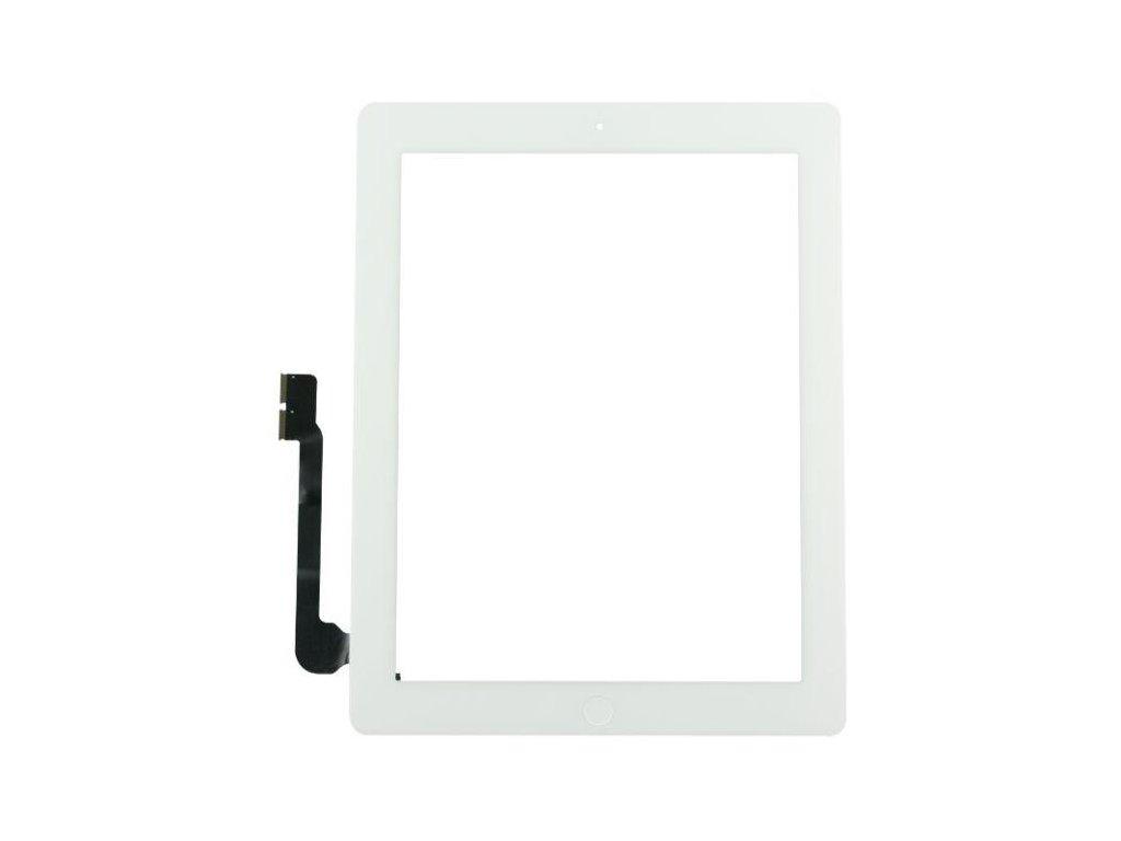 Dotykové sklo (touch screen) pro iPad 4 White