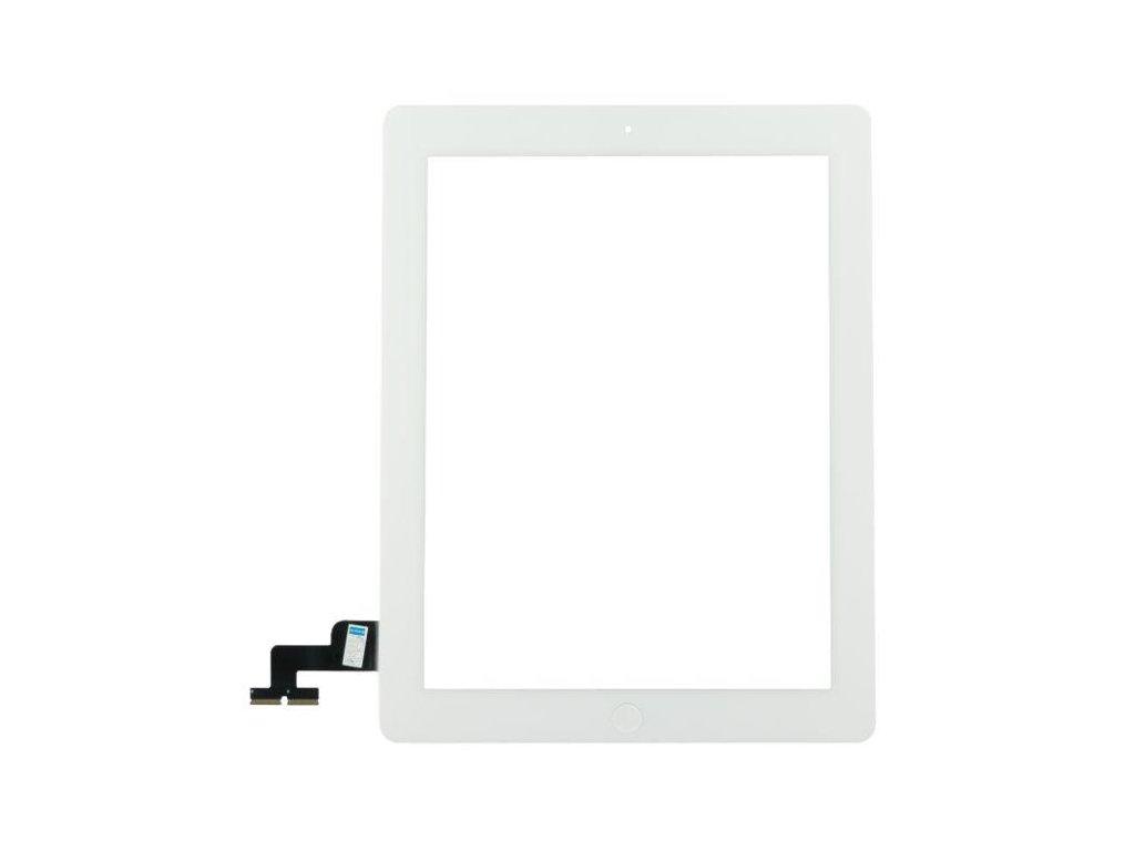 Dotykové sklo (touch screen) pro iPad 2 White