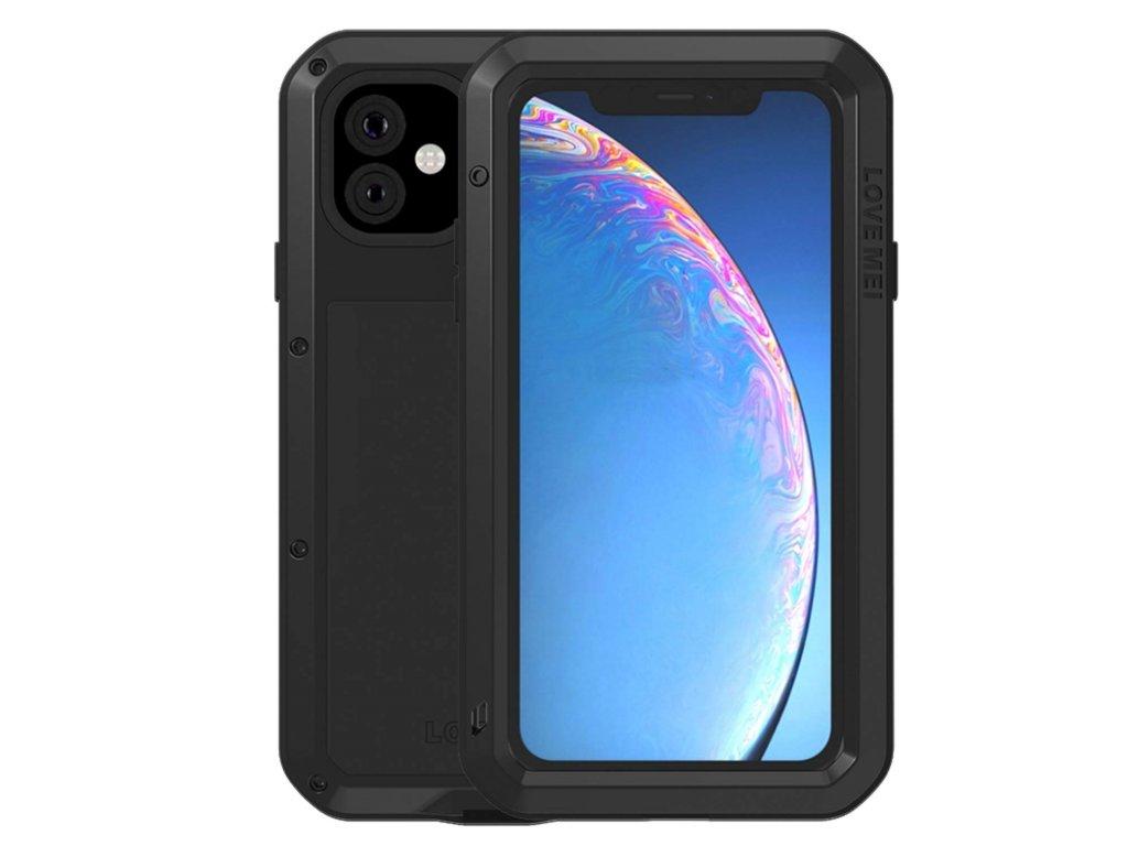 Ochranný kryt na iPhone 11 Pro MAX - LOVE MEI, Powerful Black