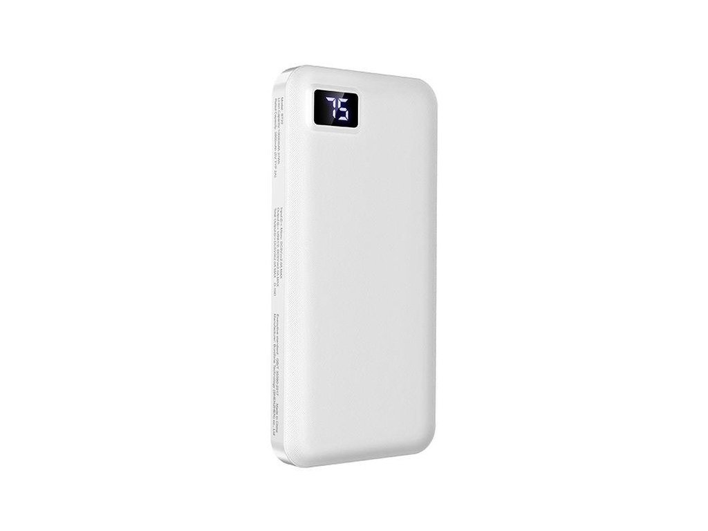 Externí baterie / powerbanka - Borofone, BT22 Intelligent 10000mAh White