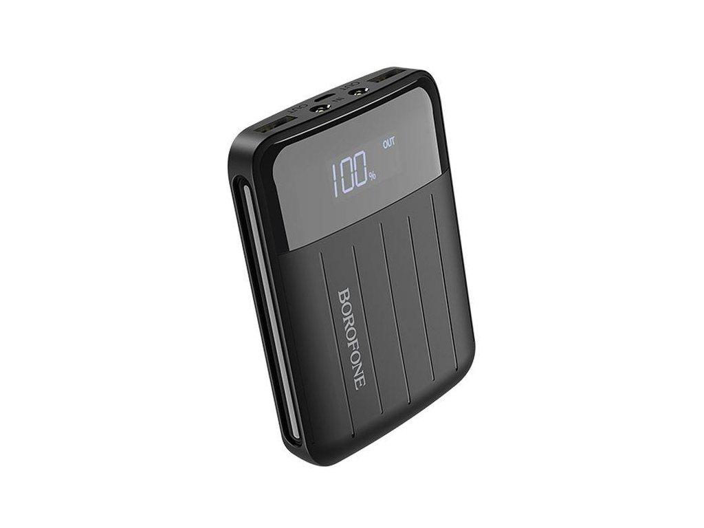 Externí baterie / powerbanka - Borofone, BT21 Intelligent 10000mAh Black