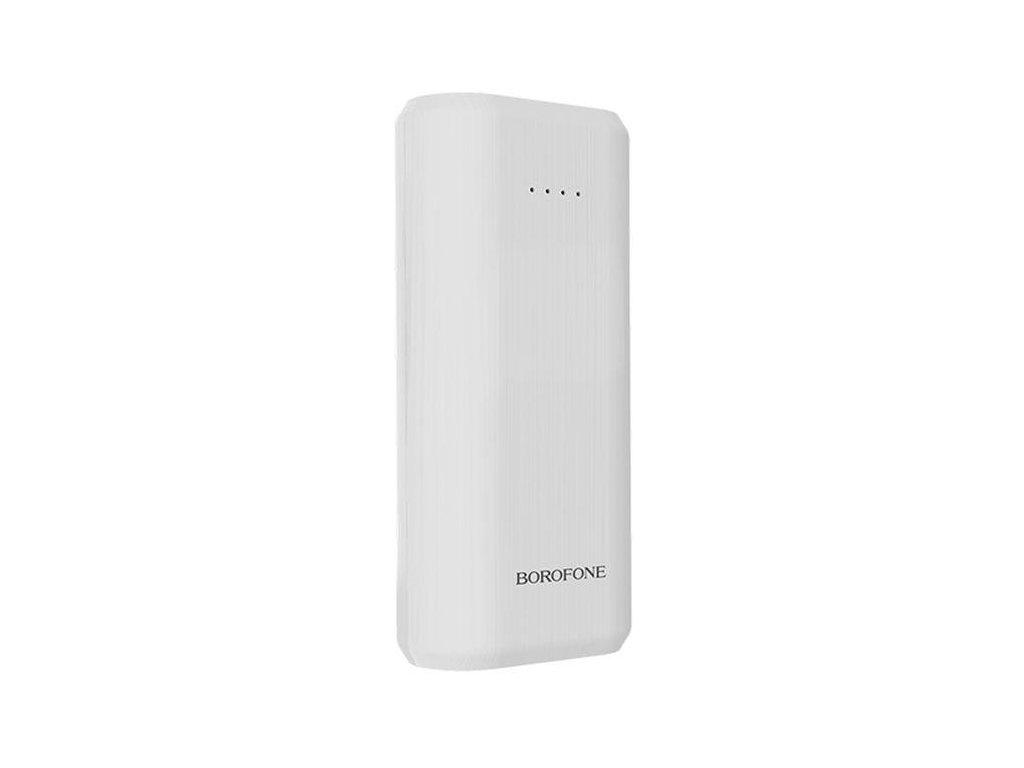 Externí baterie / powerbanka - Borofone, BT2 Fullpower 5200mAh White