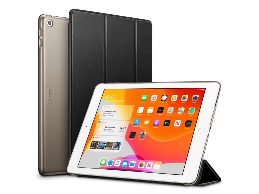 Pouzdro / kryt pro iPad 10.2 (2019/2020) - ESR, Yippee Black