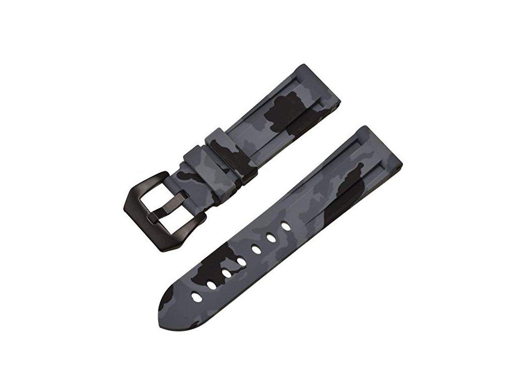 Řemínek pro Apple Watch 42mm / 44mm - Camo Black