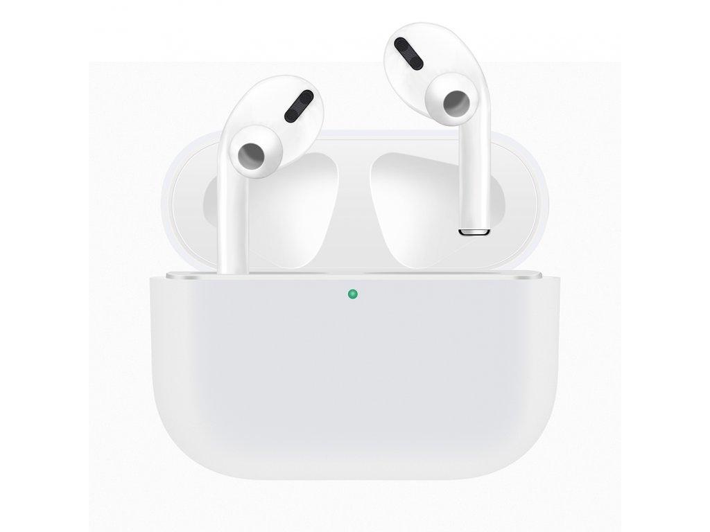 Pouzdro na sluchátka AirPods Pro - Silicone White