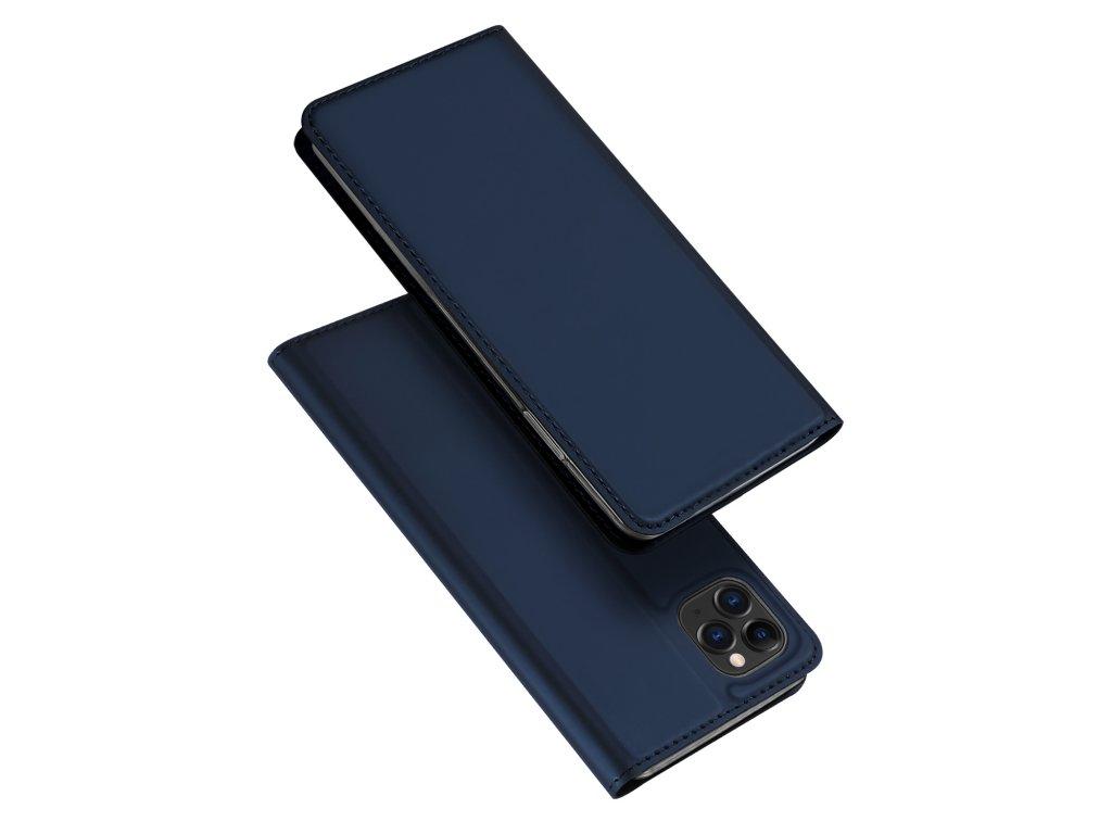 Knížkové pouzdro na iPhone 11 Pro - DuxDucis, SkinPro Blue
