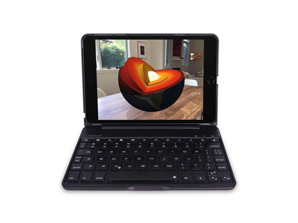 Klávesnice pro iPad mini 4 / 5 - DuxDucis, Keyboard Black