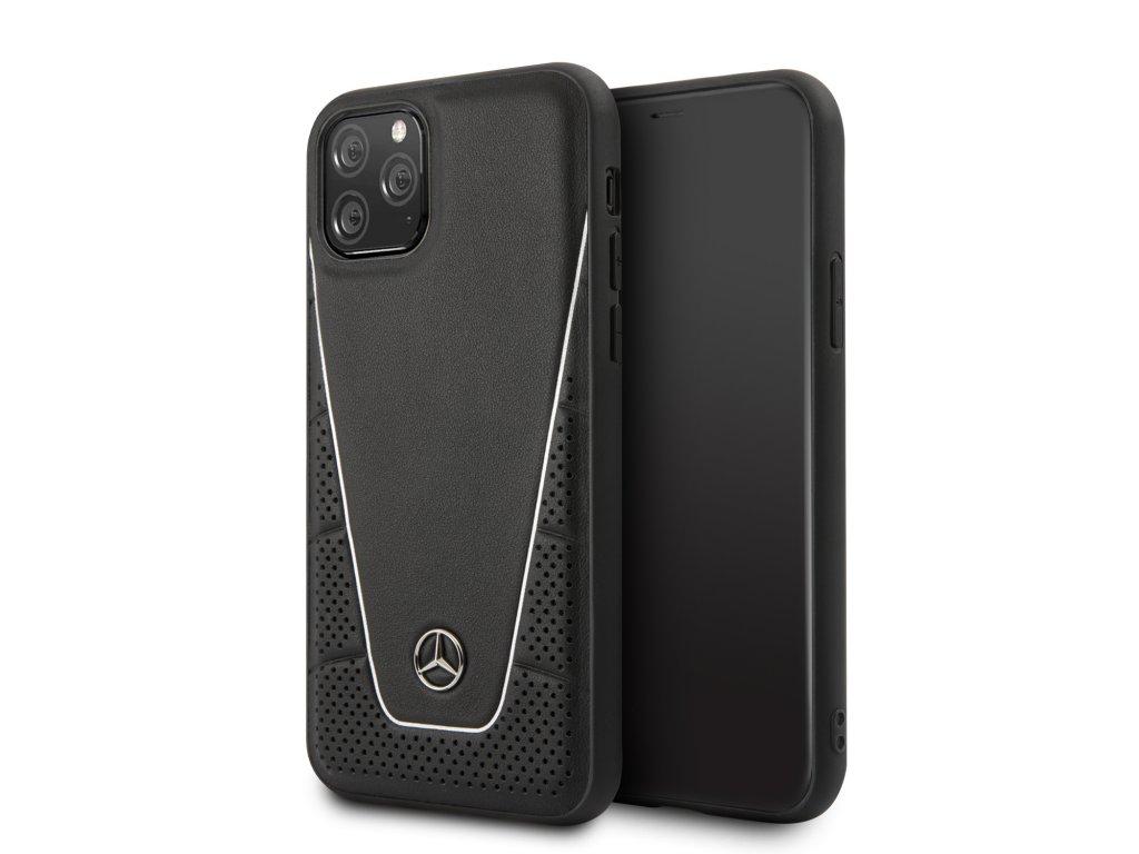 Ochranný kryt na iPhone 11 Pro - Mercedes, Smooth Cover Black