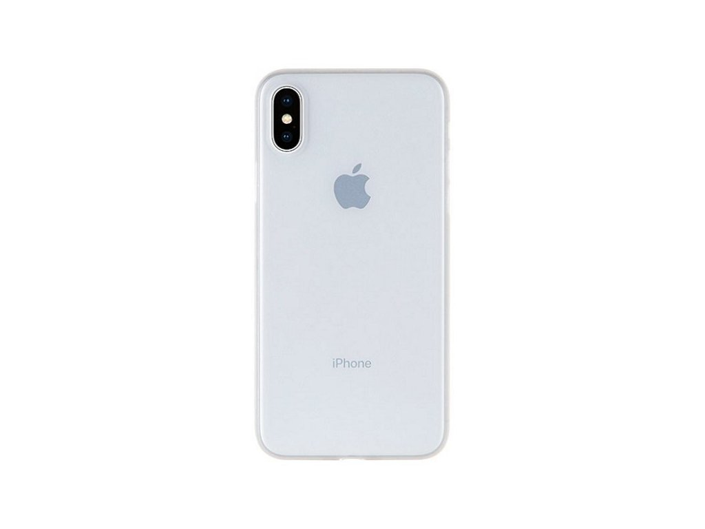 Ultratenký kryt pro iPhone XS / X - Mercury, UltraSkin Transparent