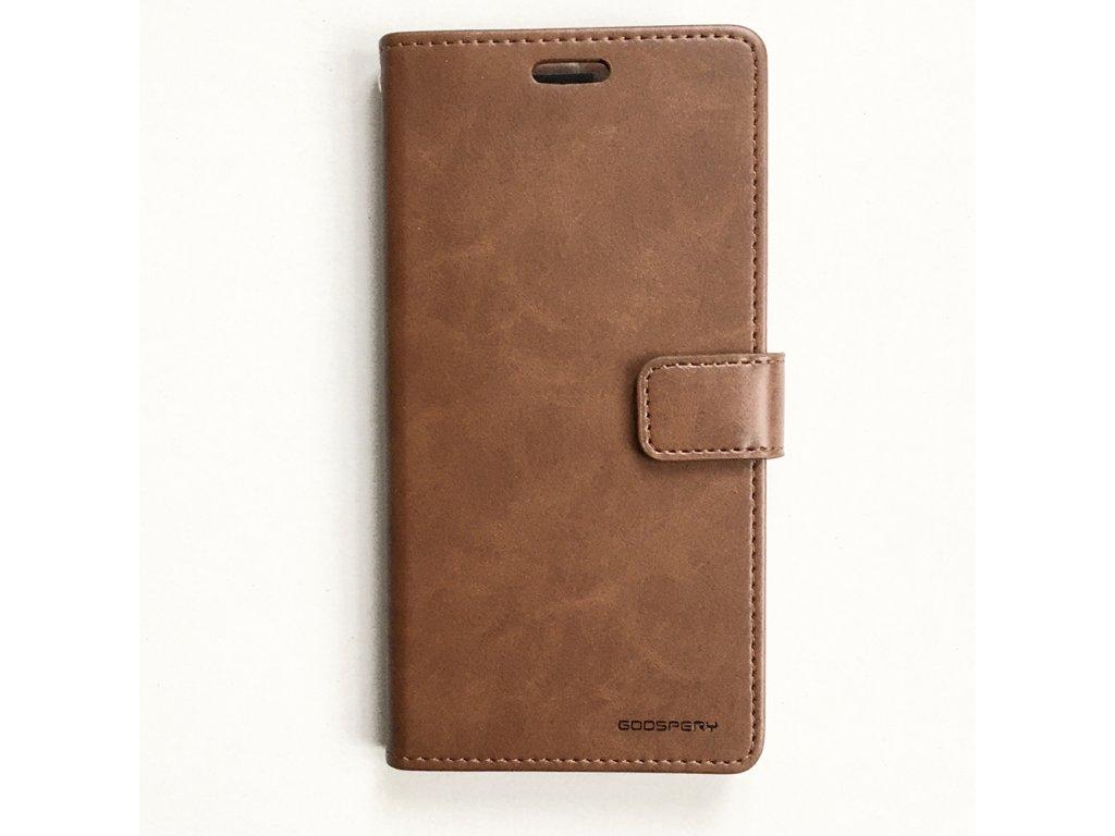 Pouzdro na iPhone 11 - Mercury, Bluemoon Diary BROWN