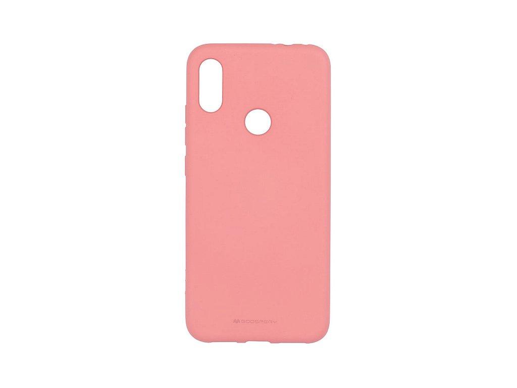 Pouzdro / kryt pro Xiaomi Redmi Note 7 - Mercury, Soft Feeling Pink