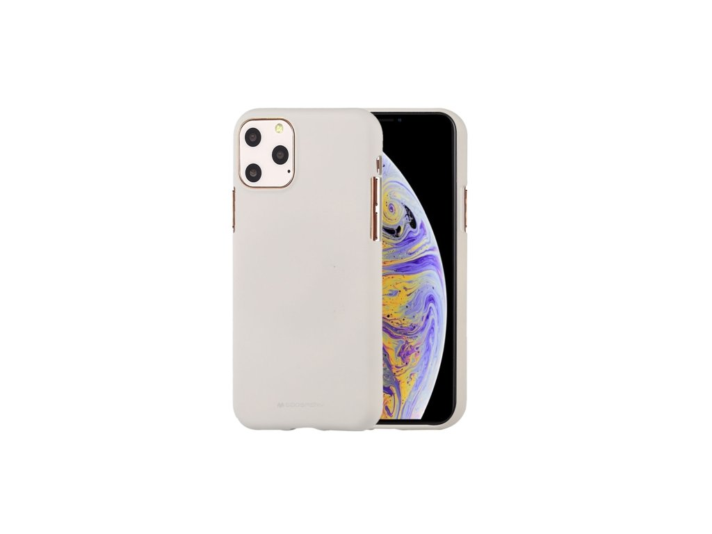 Ochranný kryt pro iPhone 11 Pro MAX - Mercury, Soft Feeling Stone
