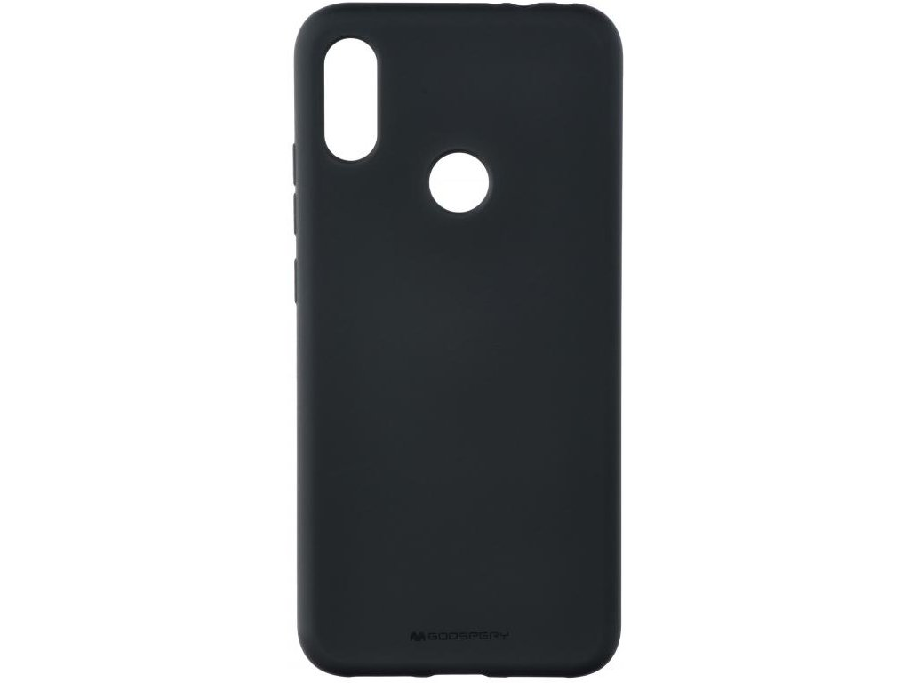 Pouzdro / kryt pro Xiaomi Redmi Note 7 - Mercury, Soft Feeling Black