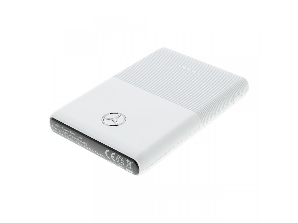 Externí baterie / Powerbanka - Mercedes, PowerBank 5000mAh White