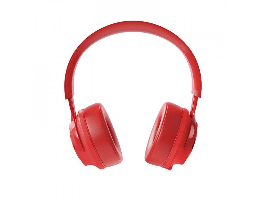 Bezdrátová náhlavní sluchátka - Hoco, W22 Talent Red