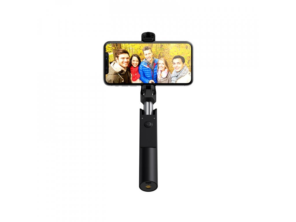 Bluetooth selfie tyč - Hoco, K12 Lisa Black