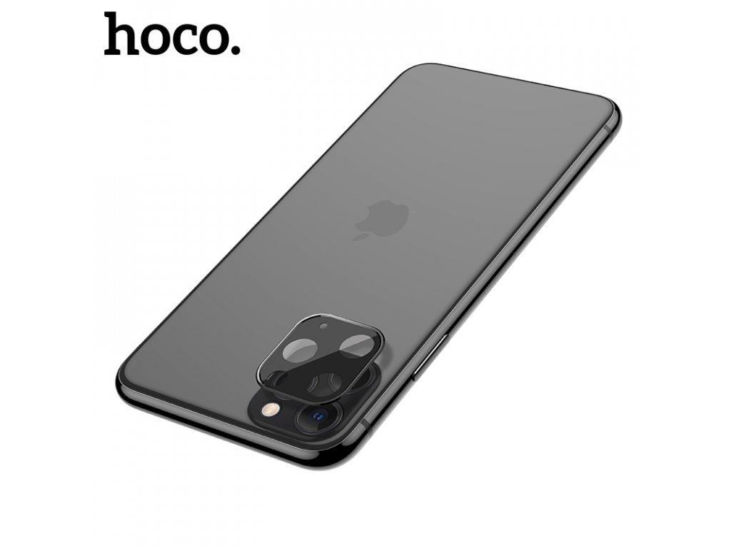 Ochranná fólie na zadní kameru iPhone 11 Pro / 11 Pro MAX - Hoco, Metal Frame Black