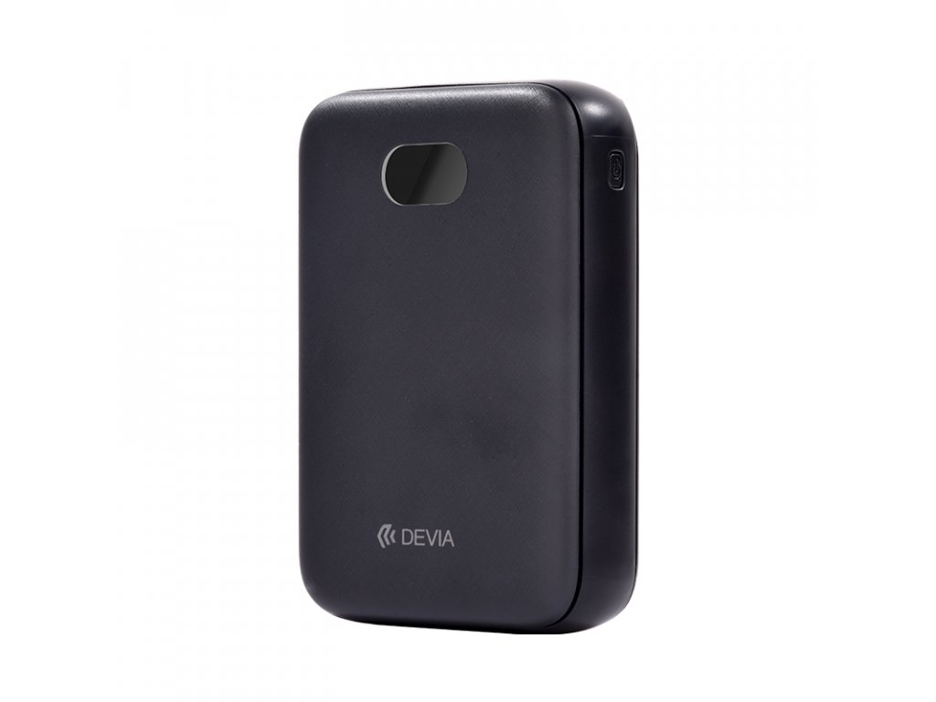 Externí baterie / powerbanka - Devia, Digital Mini 10000mah Black