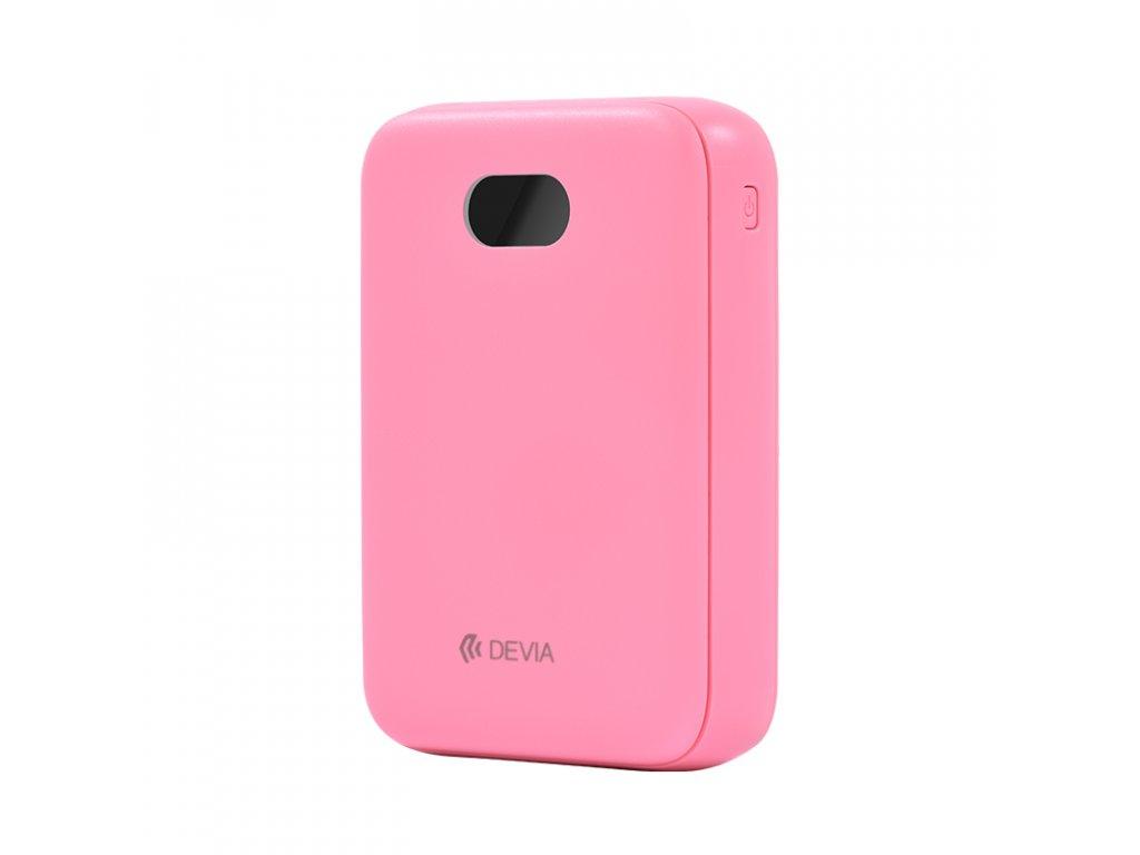 Externí baterie / powerbanka - Devia, Digital Mini 10000mah Pink