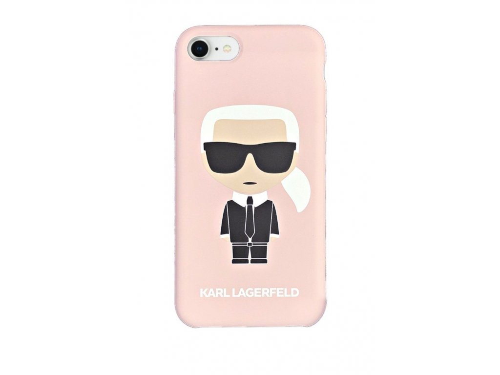 Ochranný kryt pro iPhone 7 / 8 - Karl Lagerfeld, Full Body Pink