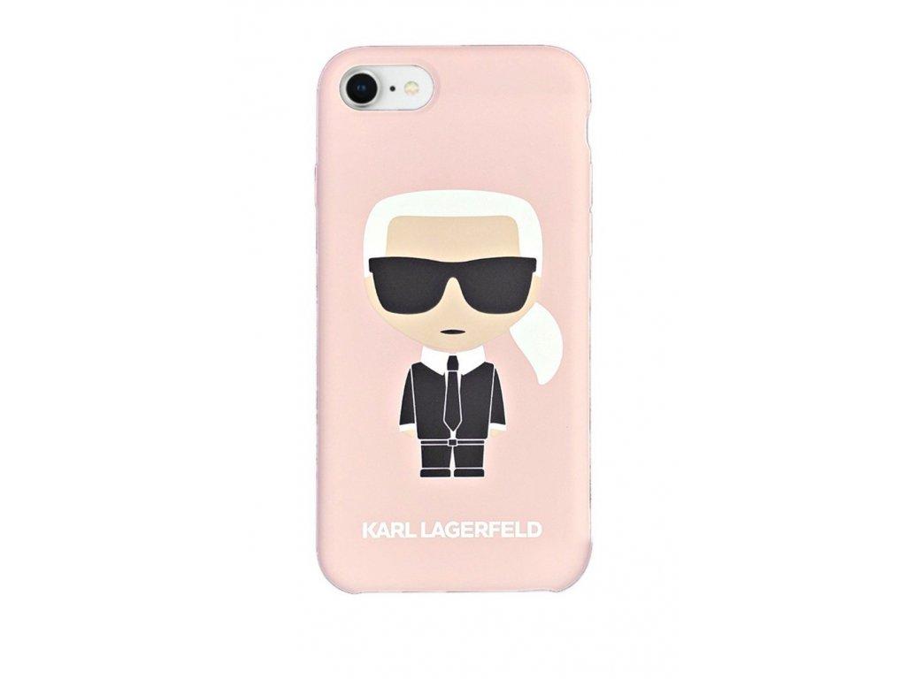 Ochranný kryt pro iPhone 7 / 8 / SE (2020) - Karl Lagerfeld, Full Body Pink