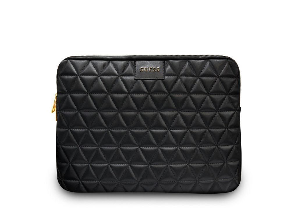 "Pouzdro na notebook 13"" - Guess, Quilted Sleeve Black"
