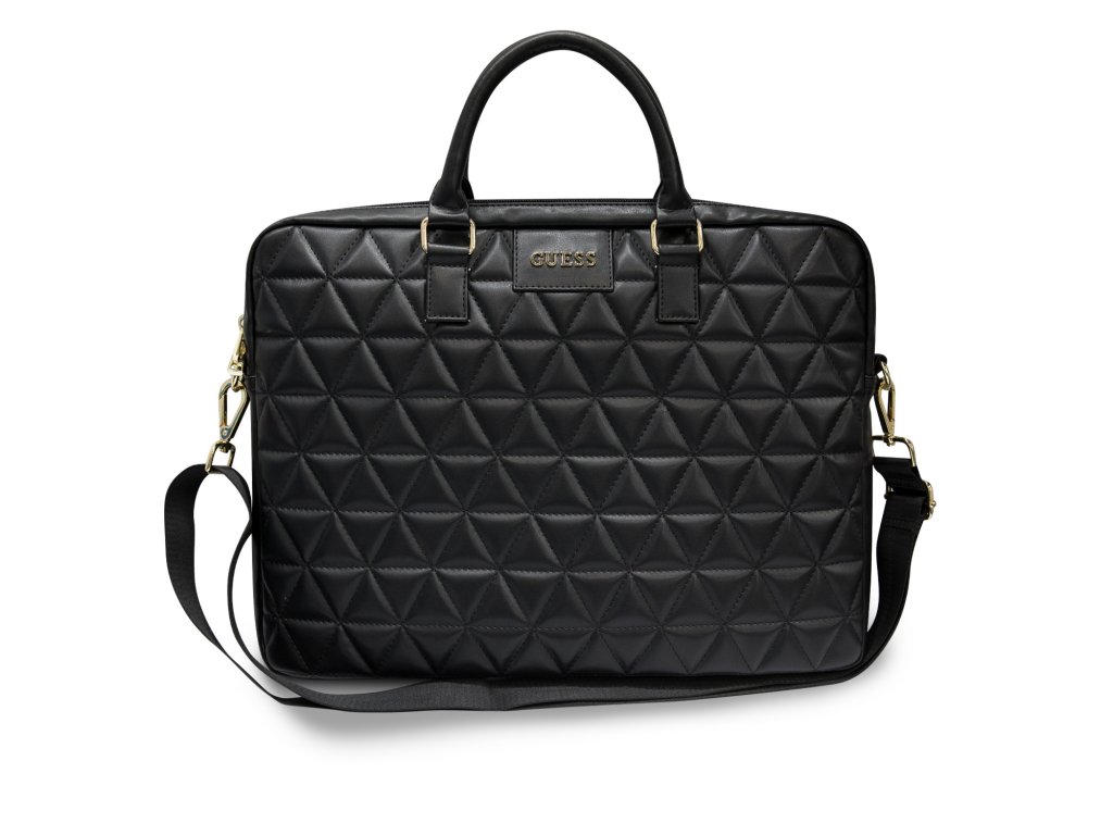 "Taška na notebook 15"" - Guess, Quilted Bag Black"