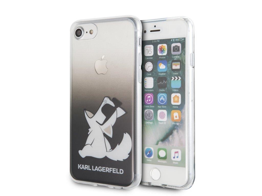 Ochranný kryt pro iPhone 7 / 8 / SE (2020) - Karl Lagerfeld, Fun Sunglasses Black