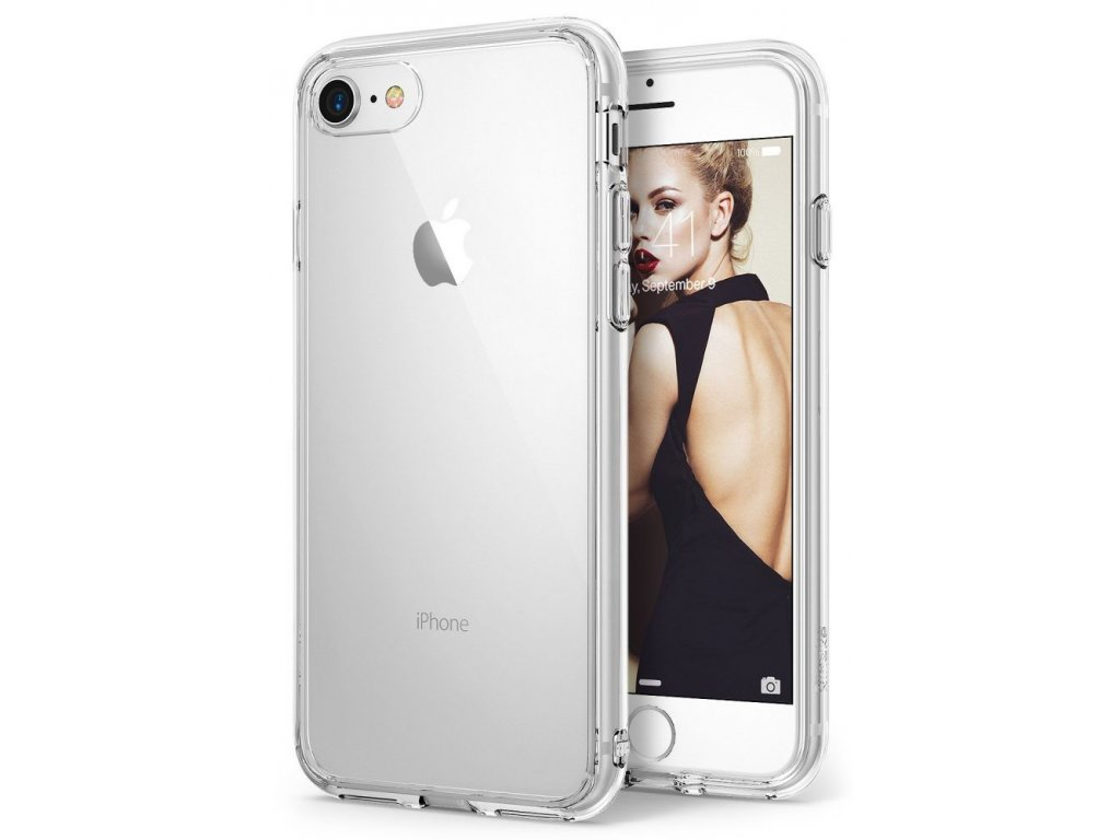 Ochranný kryt pro iPhone 7 / 8 - Ringke, Fusion Clear