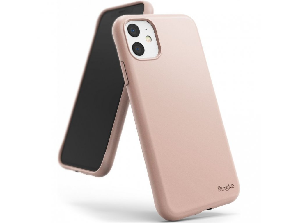 Ochranný kryt na iPhone 11 - Ringke, Air-S Pink Sand