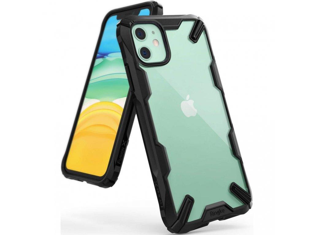 Ochranný kryt na iPhone 11 - Ringke, Fusion-X Black
