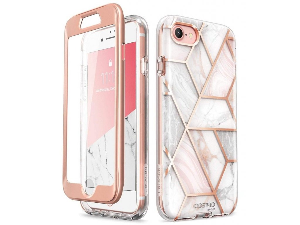 Ochranný kryt pro Apple iPhone 7 / 8 / SE (2020) - Supcase, Cosmo Marble