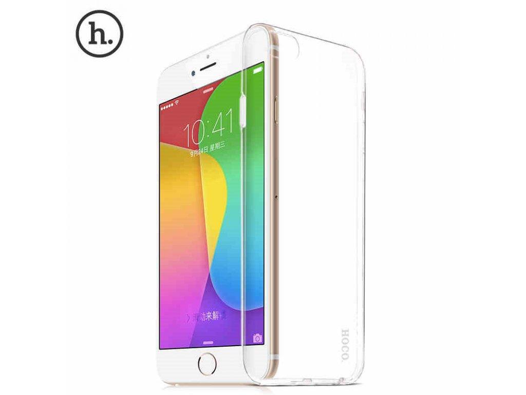 Pouzdro / kryt pro Apple iPhone 6 / 6S - Hoco, Jelly Skin transparentní