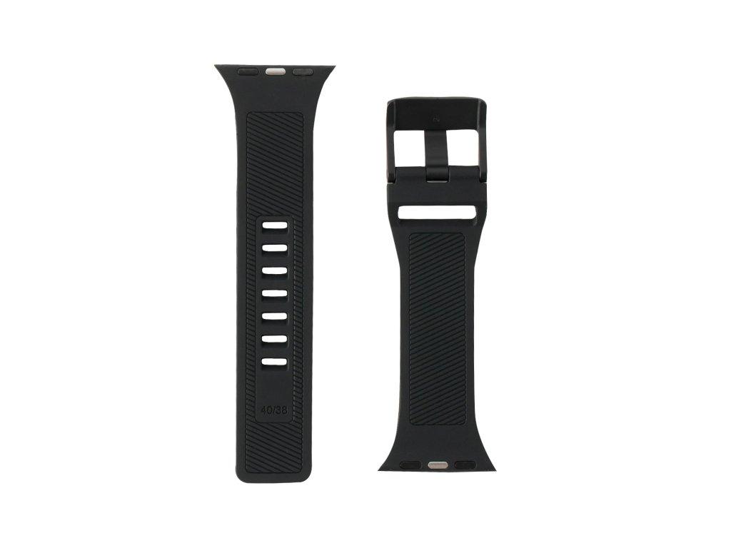 Řemínek pro Apple Watch 42mm / 44mm - UAG, Scout Strap Black