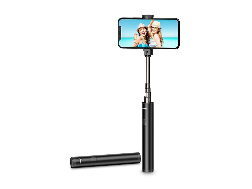 Bluetooth selfie tyč - ESR, Wireless Selfie Stick Black