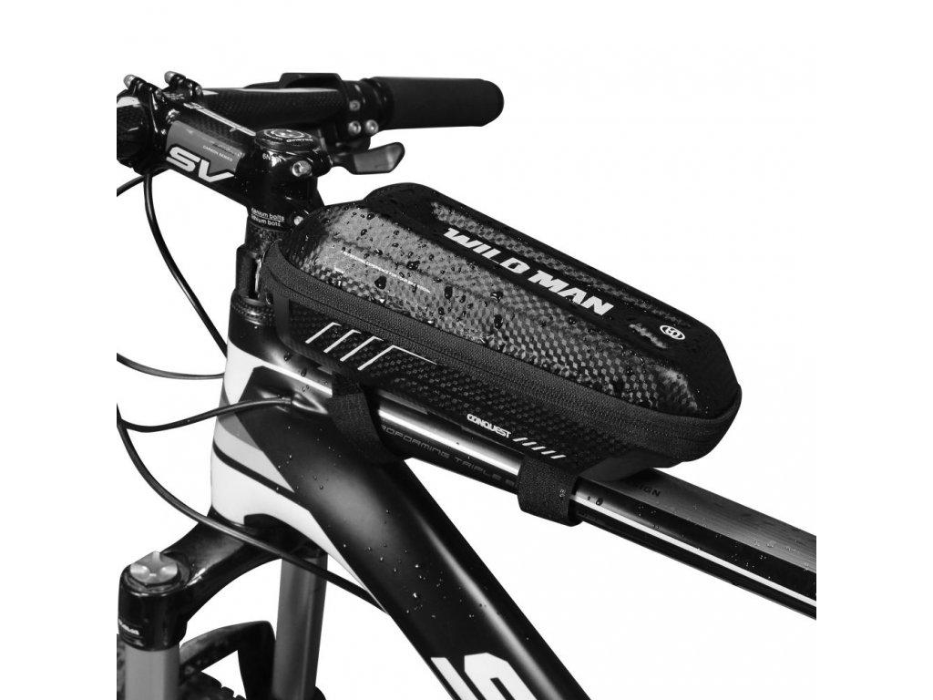 Cyklotaška / brašna na kolo - WildMan, Sakwa E5S Black