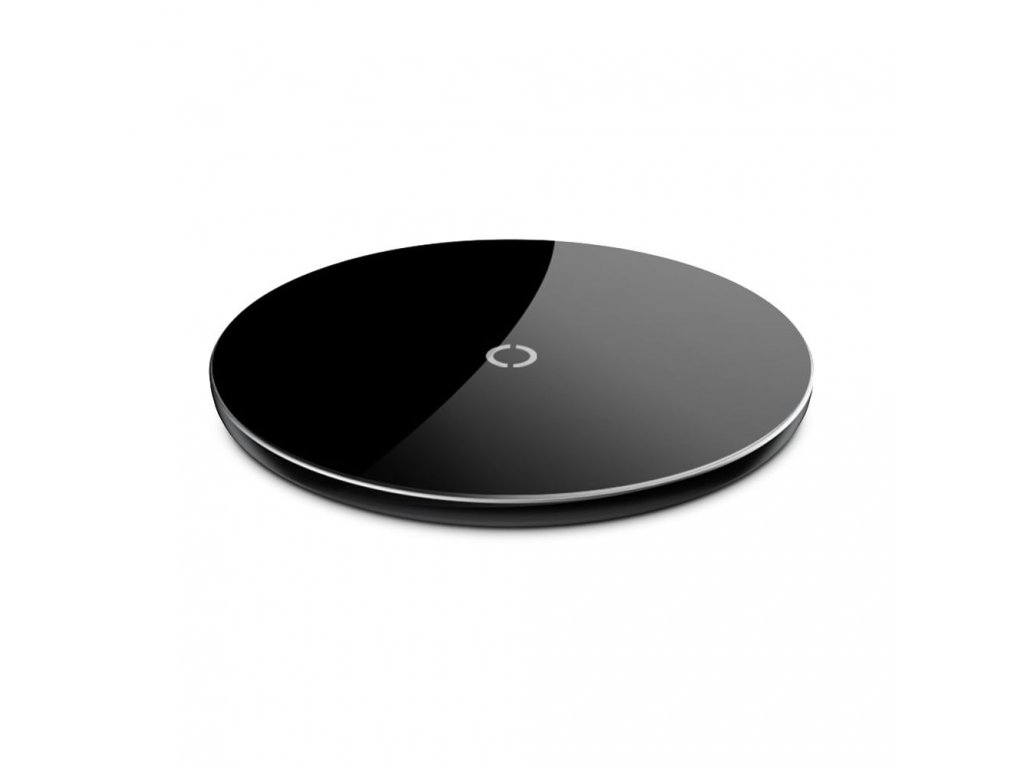 Bezdrátová rychlá nabíječka pro iPhone - BASEUS, Simple Black