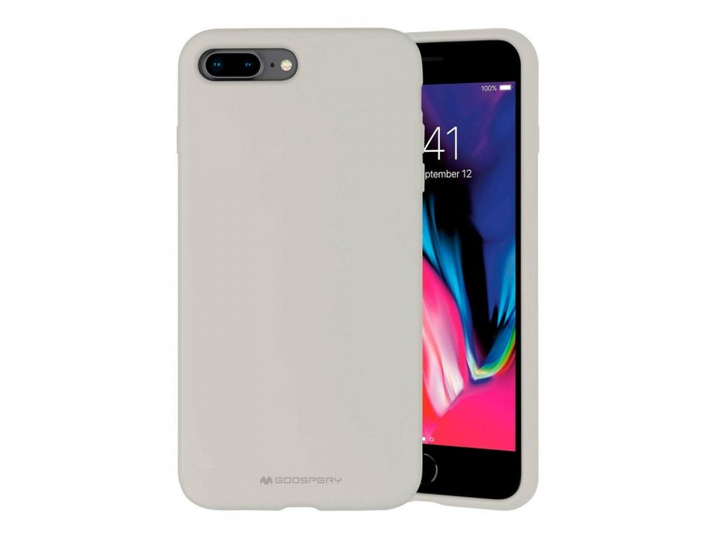 Ochranný kryt pro iPhone 7 PLUS / 8 PLUS - Mercury, Silicone Stone