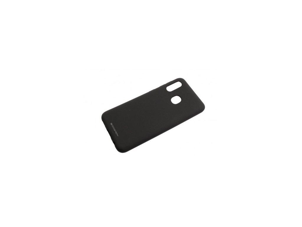 Ochranný kryt na Samsung GALAXY A20E A202F - Mercury, Soft Feeling Black