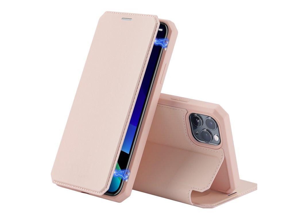 Knížkové pouzdro na iPhone 11 Pro - DuxDucis, SkinX Pink