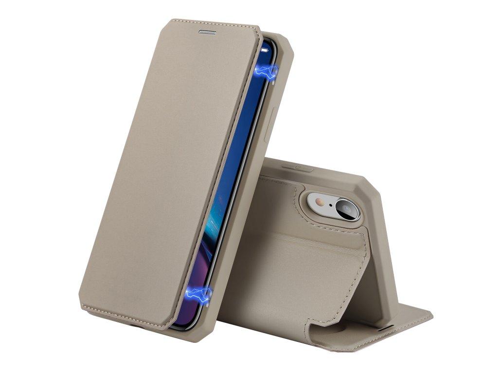 Pouzdro pro iPhone XR - DuxDucis, SkinX Gold