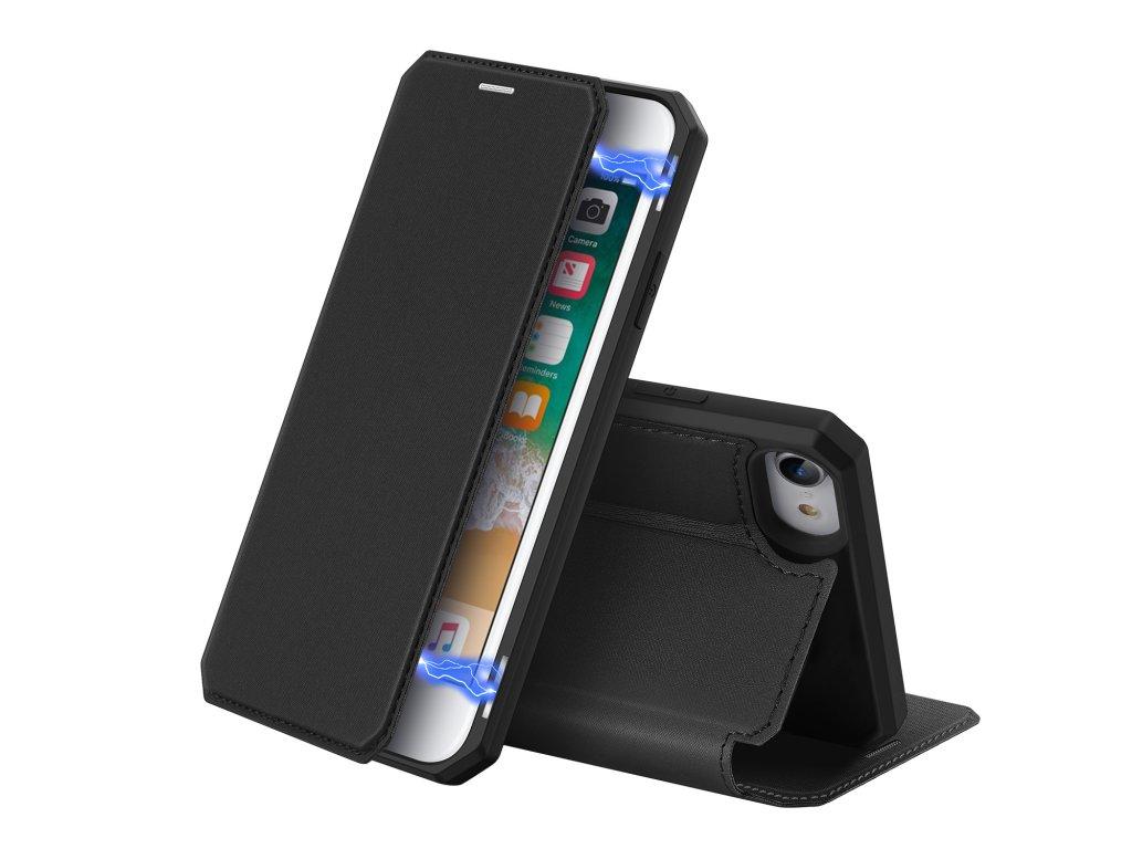 Pouzdro pro iPhone 7 / 8 / SE (2020) - DuxDucis, SkinX Black