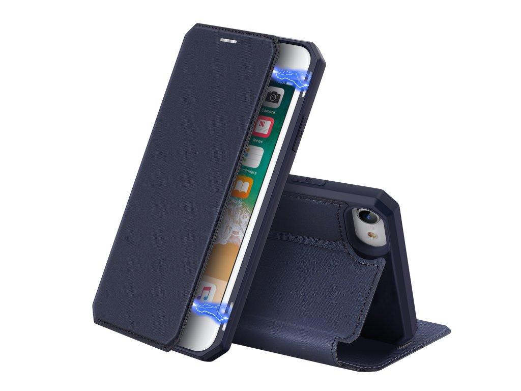 Pouzdro pro iPhone 7 / 8 / SE (2020) - DuxDucis, SkinX Blue
