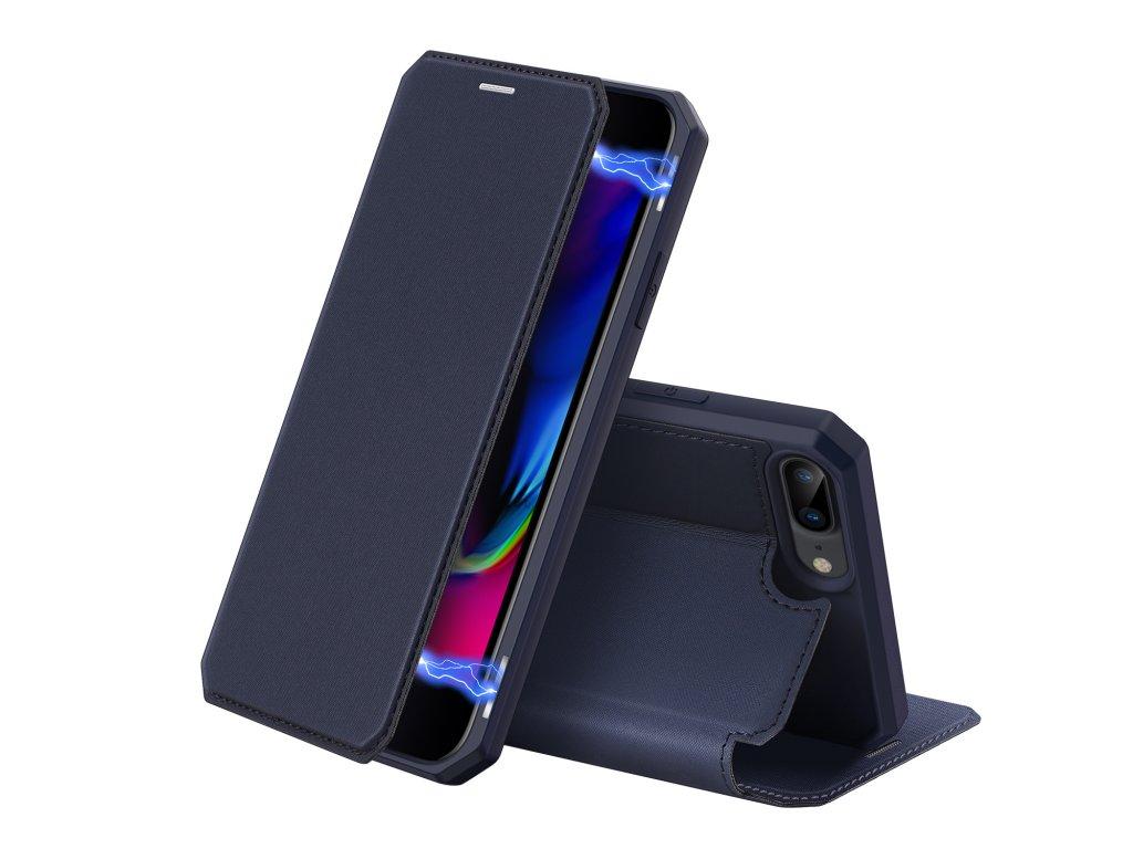 Pouzdro pro iPhone 7 Plus / 8 Plus - DuxDucis, SkinX Blue