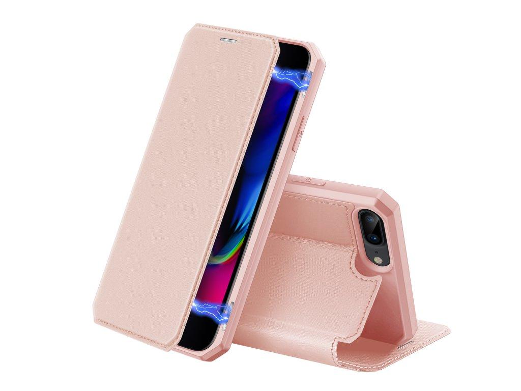 Pouzdro pro iPhone 7 Plus / 8 Plus - DuxDucis, SkinX Pink