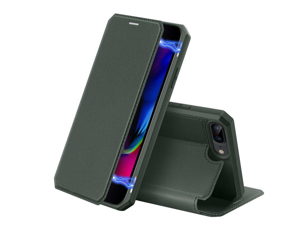 Pouzdro pro iPhone 7 Plus / 8 Plus - DuxDucis, SkinX Green