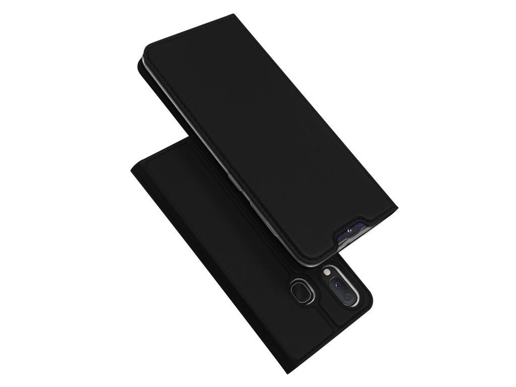 Pouzdro pro Samsung GALAXY A20E A202F - DuxDucis, SkinPro Black