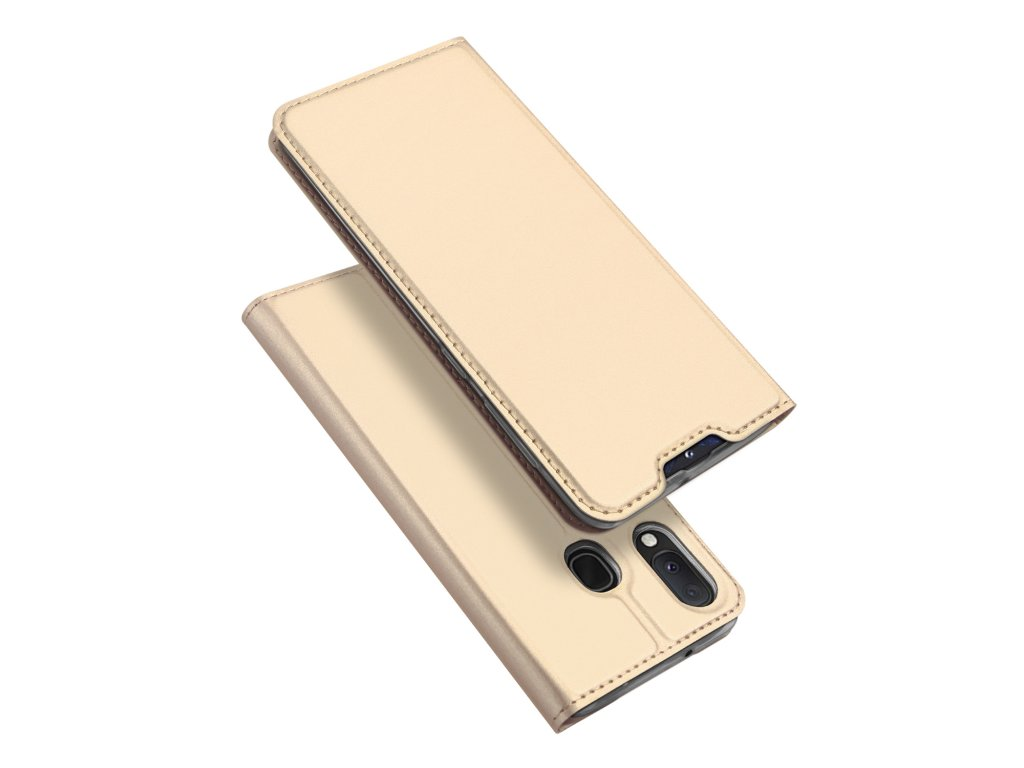 Pouzdro pro Samsung GALAXY A20E A202F - DuxDucis, SkinPro Gold