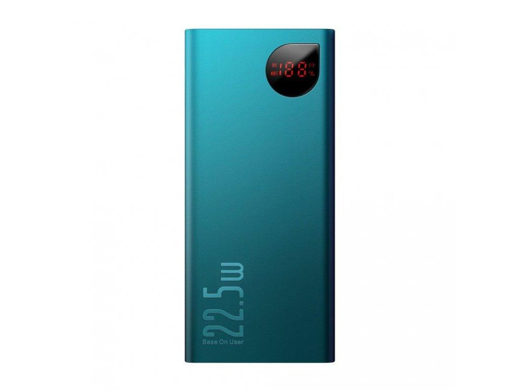 Externí baterie / powerbanka - Baseus, Adaman QC3.0 10000mAh Green