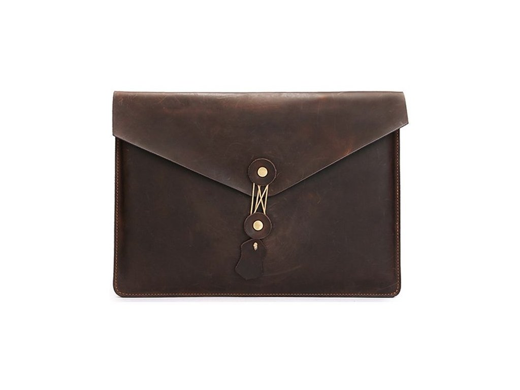 Pouzdro na notebook - Tech-Protect, 13 Leather Brown